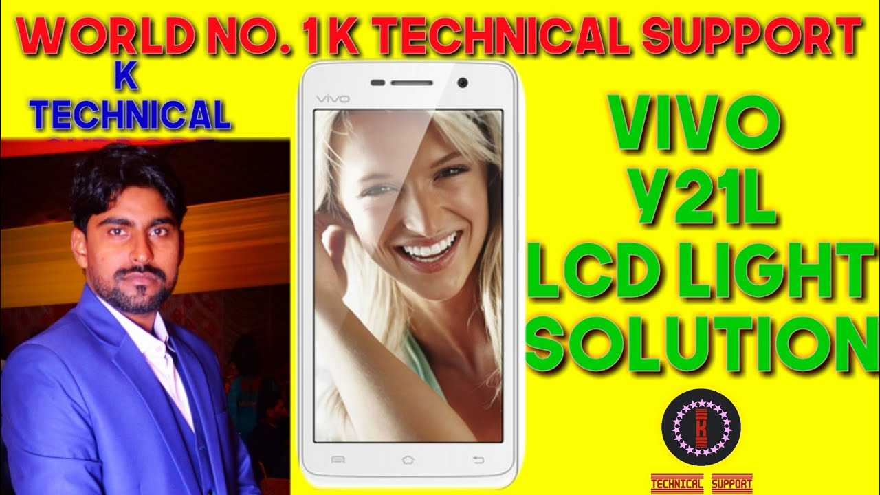 Vivo Y21l Display Light Solution 100