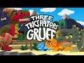 3 Billy Goats Gruff - Dinosaur's Story - Three Triceratops Gruff - T-Rex Fairytale