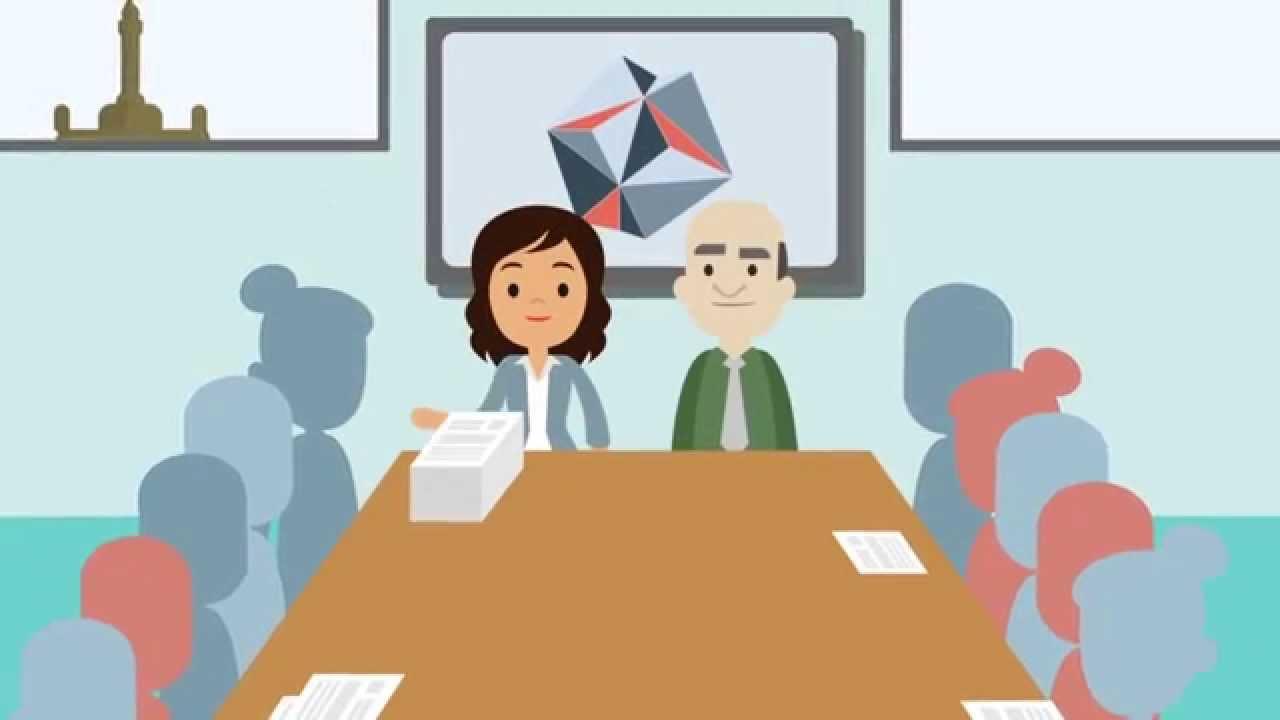 Oficinas virtuales la historia de david y mariana for Origen de las oficinas