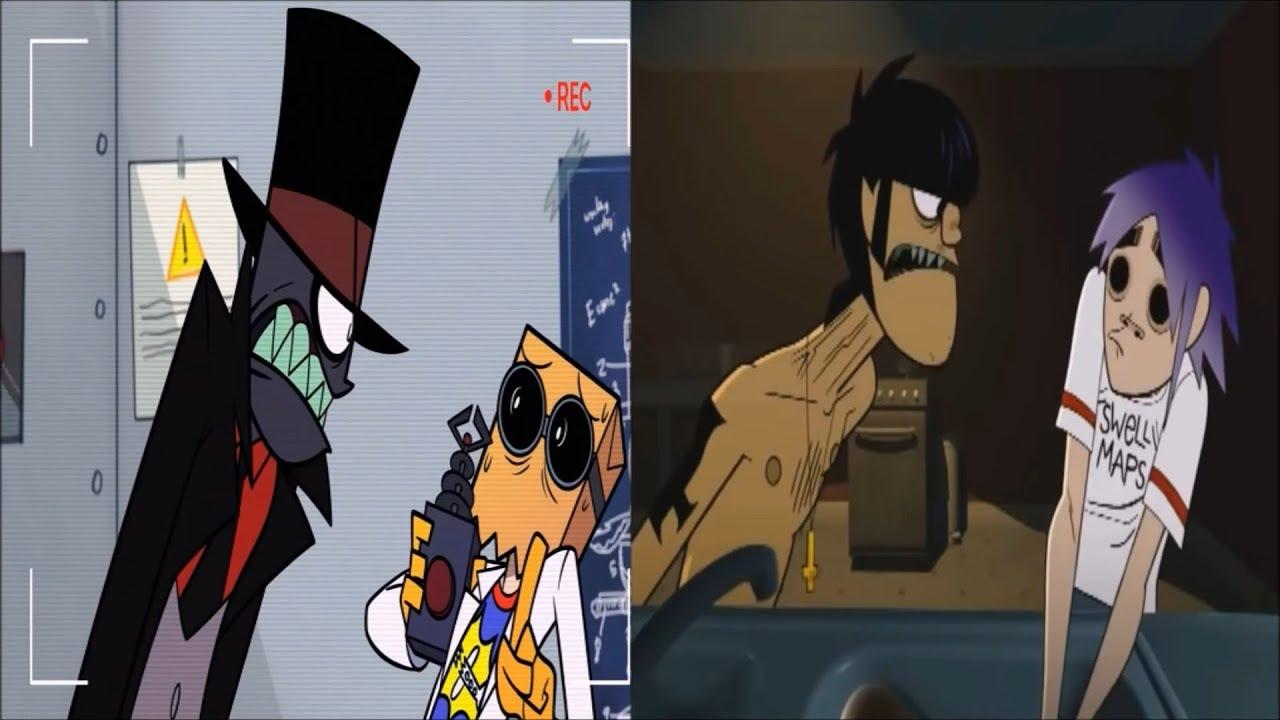 Y Gorillaz ¿Los Personajes d...