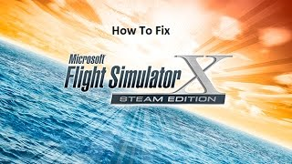 How to fix Flight Simulator X PMDG unable to find fsx.exe