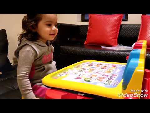 VTech Touch & Learn Activity Desk DELUXE Playtime Toy Review