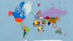 Политическа карта на света - География 5 клас | academico