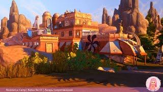 Resistance Camp   Sims 4 Speed Build Batuu No CC   Лагерь Сопротивления   Батуу Строительство