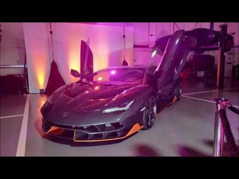 HR Owen Lamborghini Supercar Sunday