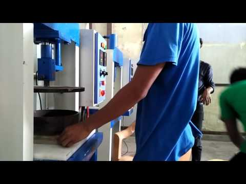 Disposable Paper plate Products Manufacturing Process Training - YouTube