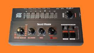 SOUND MASTER STIX ST-305 Analog Drum Machine 1982 | HQ DEMO