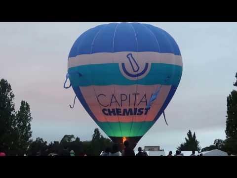Canberra Hot Air Balloon Spectacular 2017
