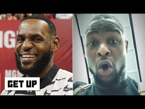 Le'Veon Bell rants about his focus on the Jets: You think LeBron is 'hoopin' all day?'  Get Up