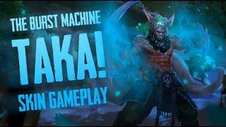 Vainglory Skins - SHIRO KAGE [T3] SKIN!! Taka |CP| Jungle Gameplay [Update 1.24]