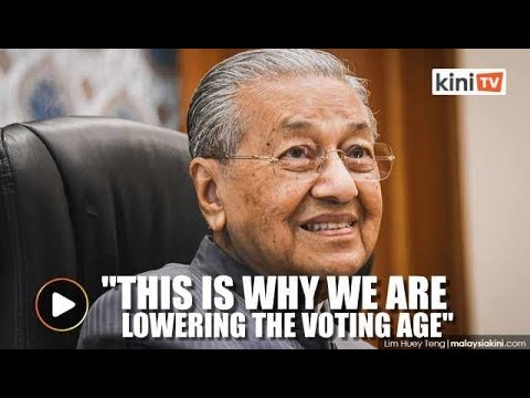 Dr Mahathir: Youths are maturing faster now
