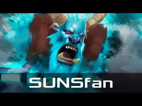 SUNSfan — Spirit Breaker, Roaming (Dec 18, 2017) | Dota 2 patch 7.07 gameplay