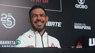UFC Sao Paulo: Antonio Rogerio Nogueira Post-Fight Press Conference - MMA Fighting