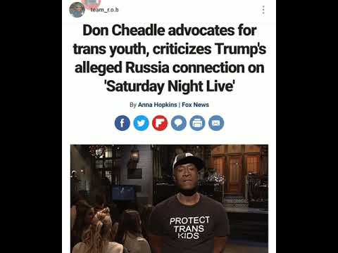 Don Cheadle Advocates For Trans Kids On Saturday Night Live