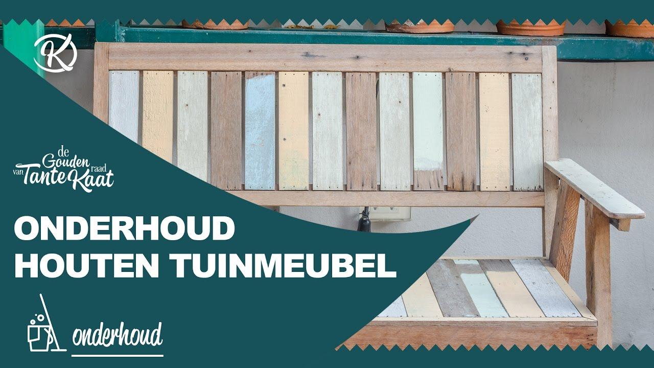 Onderhoud Houten Tuinstoelen.Onderhoud Van Houten Tuinmeubels De Gouden Raad Van Tante Kaat
