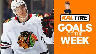 NHL Goals Of The Week: Dominik Kubalik Bats One In