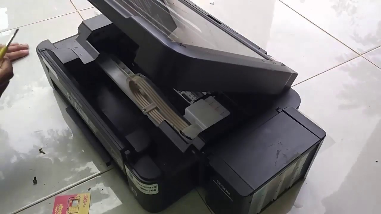 Cara Bongkar Scaner Printer Epson L360 Youtube