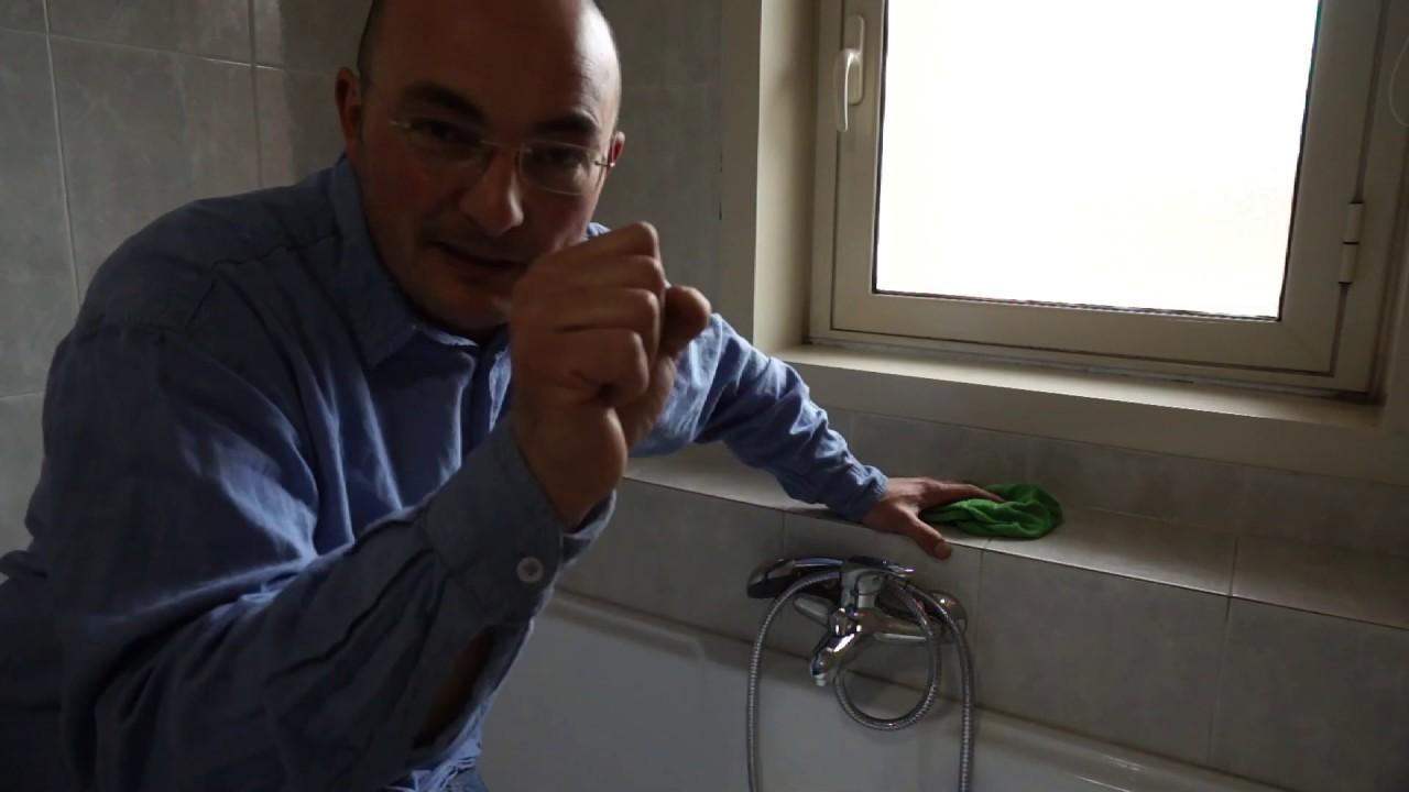 Fai da te.Sostituzione rubinetto vasca da bagno - YouTube