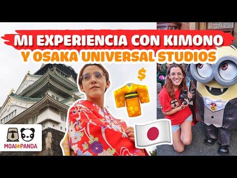 RENTAR UN KIMONO EN JAPÓN 🇯🇵 Y DÍA EN OSAKA UNIVERSAL STUDIOS