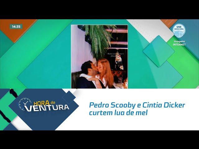 Pedro Scooby e Cintia Dicker curtem lua de mel em hotel com diárias de R$ 6 mil