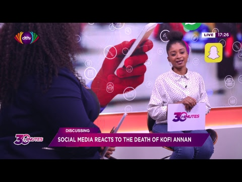 30 Minutes with AJ Sarpong and Melissa Aouad (Monday, August 20, 2018)