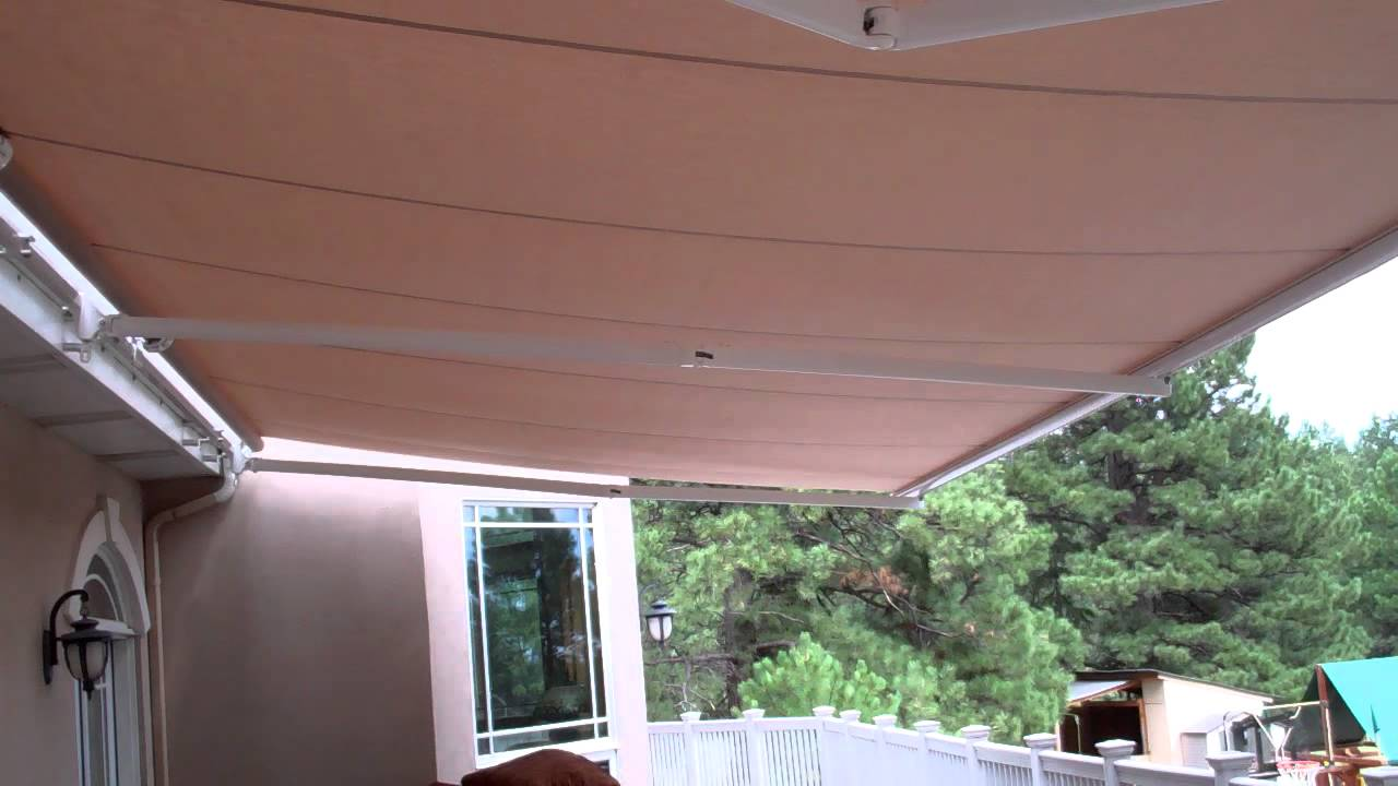 26 Wide Motorized Retractable Awning