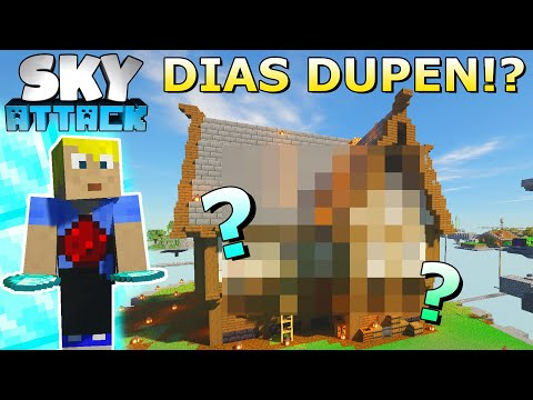 Rewi dupt Items?! Haus & Shopping District Update! - Minecraft SKY ATTACK #21