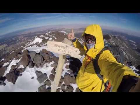 December Climb of Mt  Humphreys in AZ