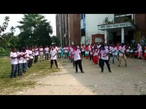 Flash Mob,Economics-5Th Batch, BRUR/ফ্লাশ মোব,বেরোবি।
