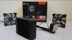 CORSAIR H80i Review, Install, Test and Overclock