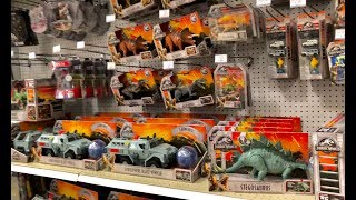 Disney Cars 3 Toys Hunting for Jurassic World Fallen Kingdom - Last Days of Toys R Us Final pt 4