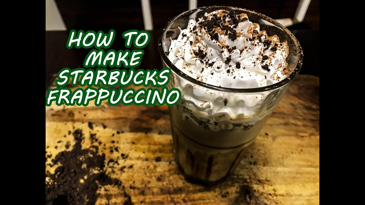 How To Make Starbucks Frappuccino Homemade Java Chip Frappuccino