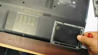 SONY VAIO How to remove the hard drive