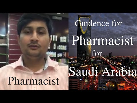 Pharmacist in Saudia Arabia | PharmD Students