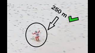 Loty powyżej 250 metrów   All Jumps over 250 meters