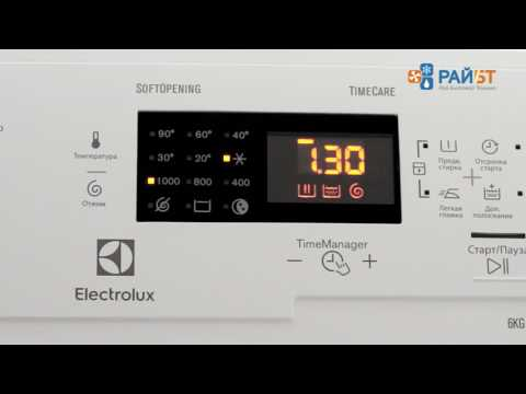 Вертикальная стиральная машина Electrolux EWT 1064 ERW