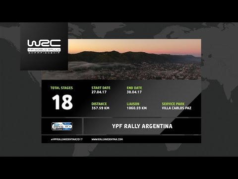 WRC - YPF Rally Argentina 2017: The 18 Stages