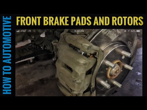 How to Replace the Front Brake Pads and Rotors on a 2005-2010 Honda Odyssey