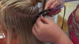 видео Креативное наращивание волос плетением. Африканское наращивание волос