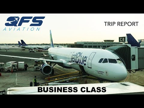 TRIP REPORT | JetBlue Airways - A321 - Seattle (SEA) To Boston (BOS) | Business Class