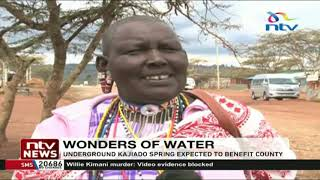 Underground spring in Kajiado County expected to benefit residents