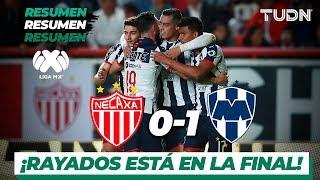 Resumen y goles | Necaxa 0 - 1 Rayados | Liga Mx - Ap 2019 - Semifinal | TUDN