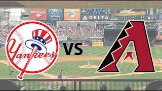 Game 29-162 The New York Yankees vs Arizona Diamondbacks GM1. LIVE play by play STREAM April 30 2019