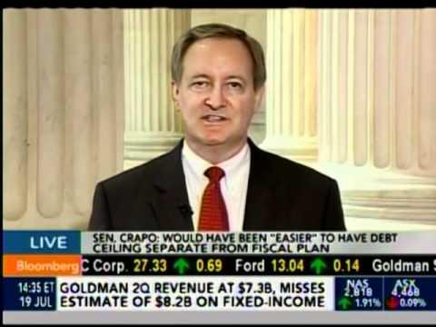 Senator Mike Crapo on Bloomberg