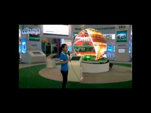 P7.62 creative led ball in beijing