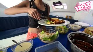 12fly TV - Catamaran Excursion at Mauritius