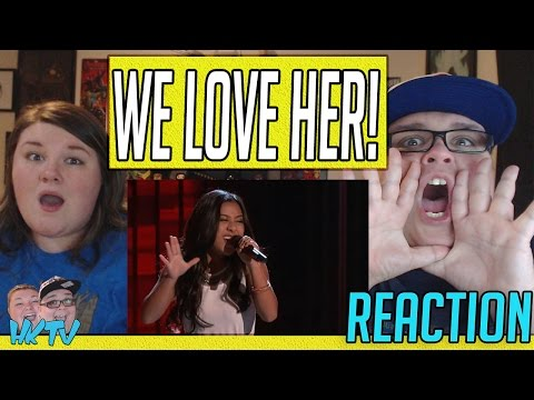 "The Voice 2017 Blind Audition - Anatalia Villaranda: ""Runaway Baby"" REACTION!! 🔥"