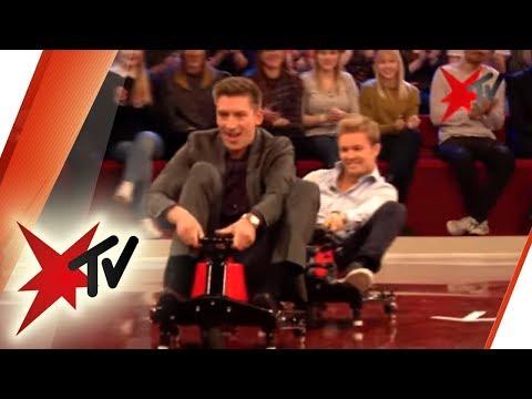 Nico Rosberg im Crazy Cart: F1-Weltmeister im Großen Preis von Hürth | stern TV (07.12.2016)