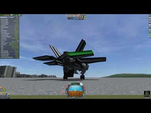 KSP: New F-35 (Stock Tilt Engine VTOL)