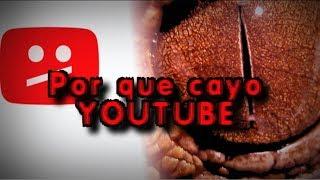 Teorías de por qué cayo #YoutubeDown